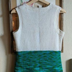 Vintage Dresses - Vintage 70's space dyed sweater dress